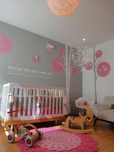 beautiful idee de chambre bebe fille contemporary yourmentor - Idee Deco Chambre Fille Bebe