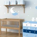 idée déco chambre bébé stickers