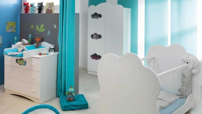 ambiance chambre b b turquoise. Black Bedroom Furniture Sets. Home Design Ideas