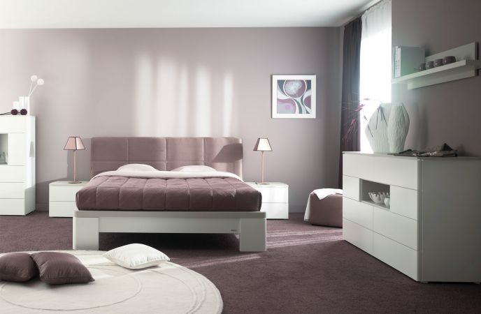Style ambiance chambre design for Chambre a coucher adulte contemporaine