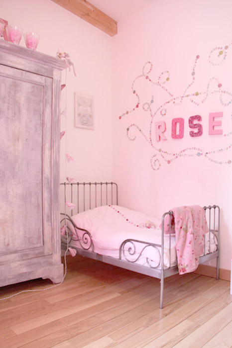 Awesome Idee Deco Chambre Fille Rose Contemporary - Sledbralorne.com ...