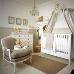 ambiance chambre fille beige