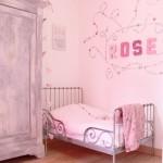 ambiance chambre fille gris et blanc