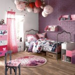 ambiance chambre fille rouge