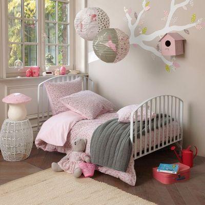 modèle ambiance chambre fille violet