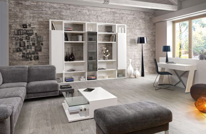 inspiration ambiance salle manger gris et blanc. Black Bedroom Furniture Sets. Home Design Ideas