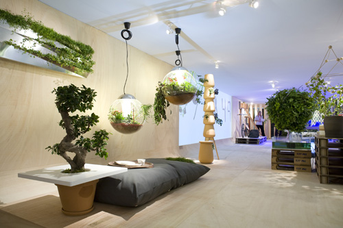 Mod le ambiance salon nature for Salon deco nature