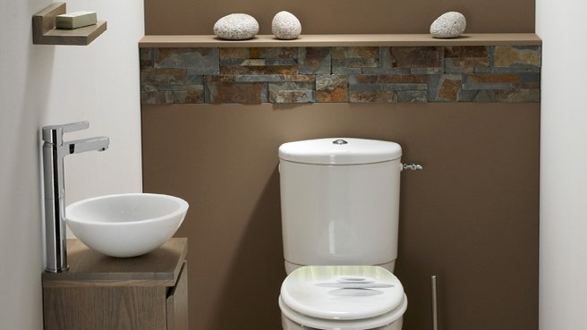 D co wc ambiance zen for Toilette seche interieur maison