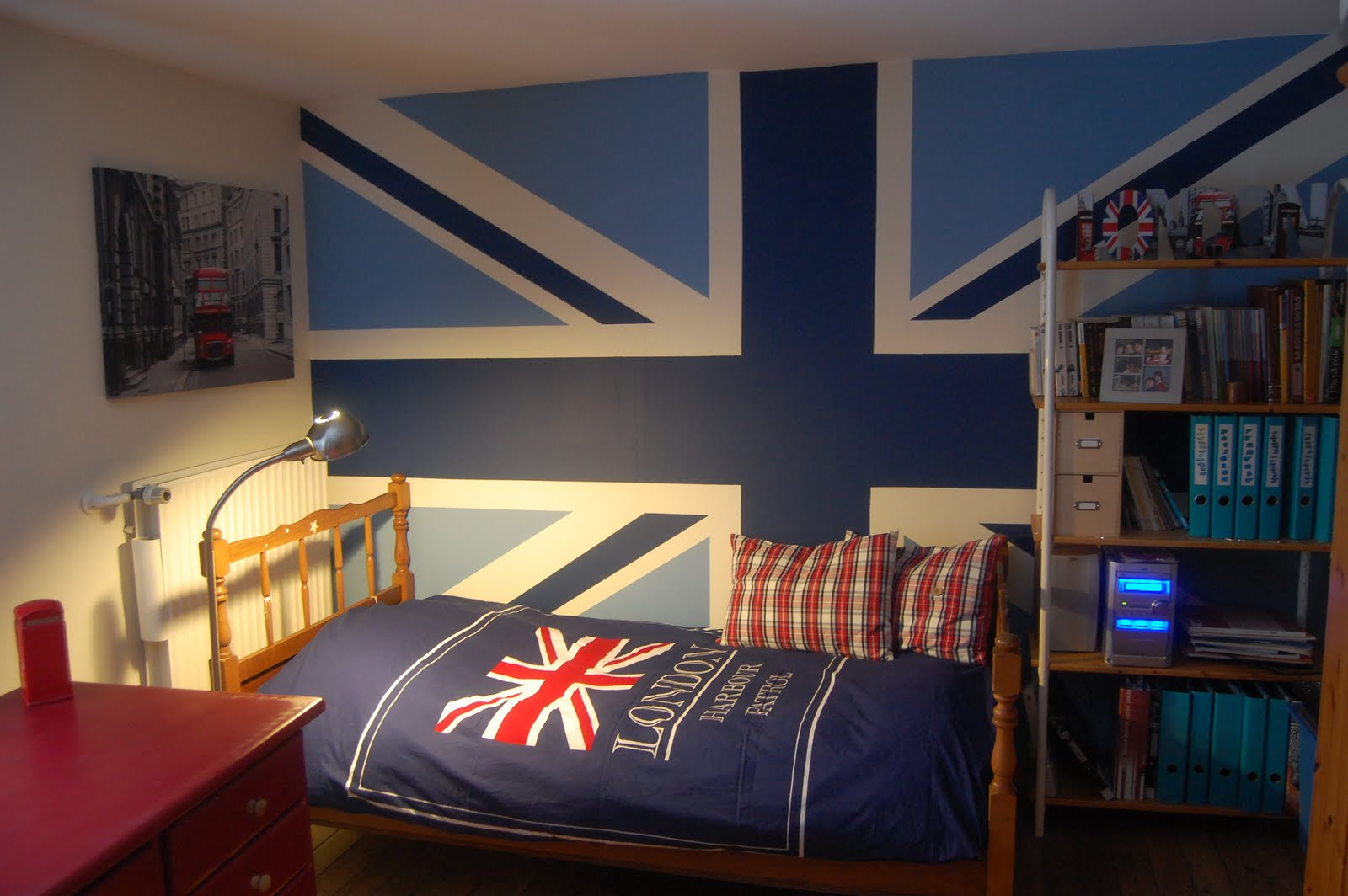 D co chambre fille london - Decoration chambre london ...