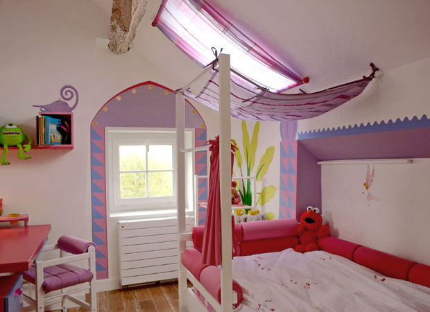 Jolie d co chambre fille orientale for Decoration murale chambre fille