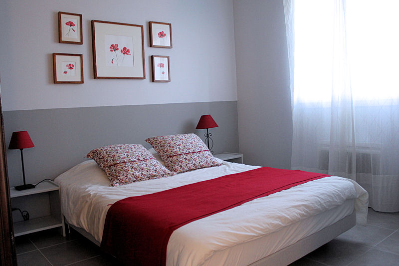 inspiration d co chambre rouge. Black Bedroom Furniture Sets. Home Design Ideas