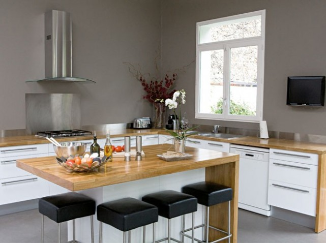 guide d co cuisine zen. Black Bedroom Furniture Sets. Home Design Ideas