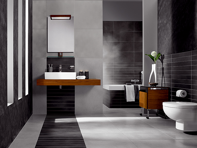 Jolie d co salle de bain moderne for Photos decoration salle de bain moderne