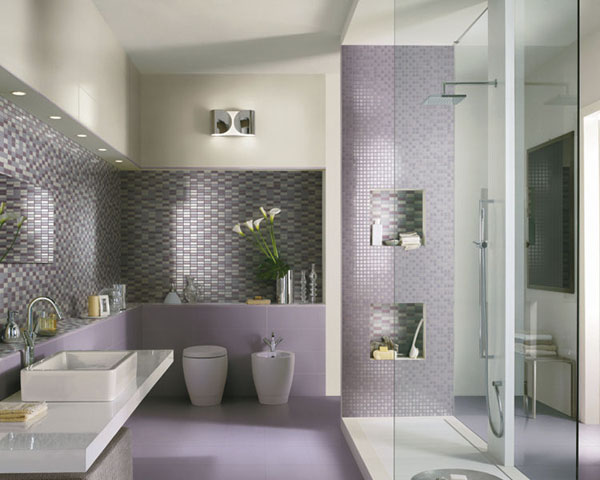 Mod le d co salle de bain moderne for Photo moderne deco