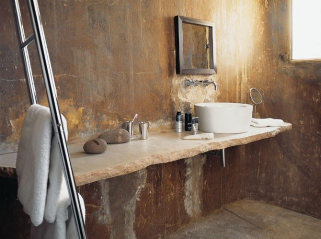 d co salle de bain tendance. Black Bedroom Furniture Sets. Home Design Ideas
