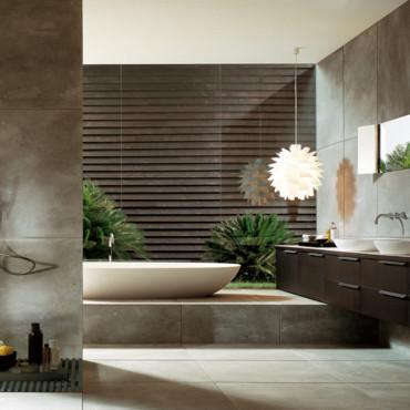 jolie d co salle de bain tendance. Black Bedroom Furniture Sets. Home Design Ideas