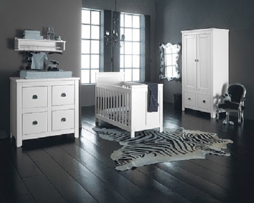 d coration chambre b b gris et blanc. Black Bedroom Furniture Sets. Home Design Ideas