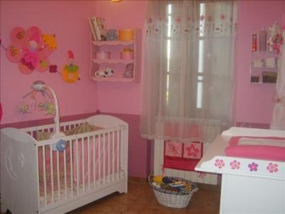Mod le d coration chambre b b rose - Deco chambre bebe fille rose ...