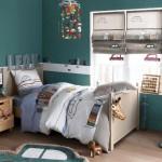 décoration chambre fille bleu