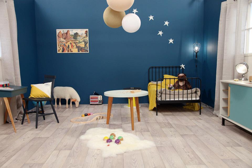 Modele Decoration Chambre Fille Bleu