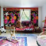 décoration chambre garçon ethnique