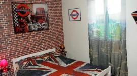décoration chambre london