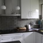 décoration cuisine gris et blanc