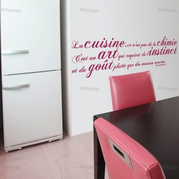 Conseil d coration cuisine stickers - Stickers deco cuisine ...