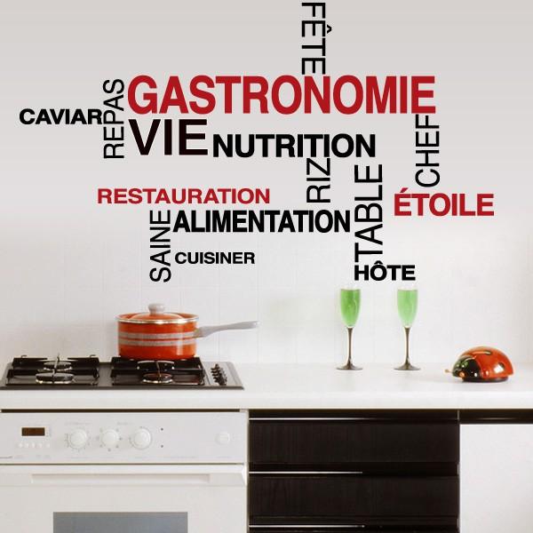 D coration cuisine stickers - Jolie cuisine ...