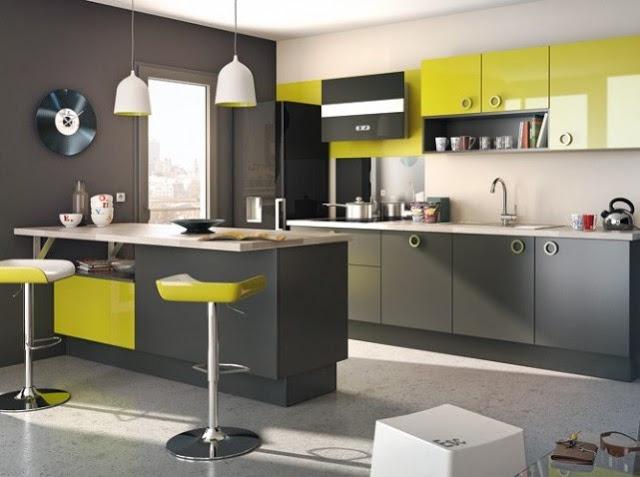 Guide d coration cuisine vert - Deco cuisine vert ...