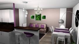 décoration salle à manger beige