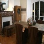 décoration salle à manger marron