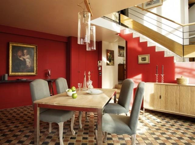 d coration salle manger tendance. Black Bedroom Furniture Sets. Home Design Ideas