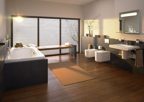 inspiration d coration salle de bain design. Black Bedroom Furniture Sets. Home Design Ideas