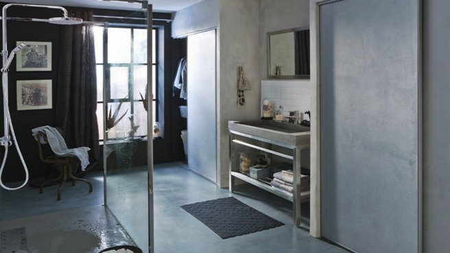 Mod le d coration salle de bain industriel for Salle de bain modele deco