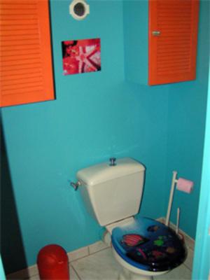 d coration wc toilettes bleu. Black Bedroom Furniture Sets. Home Design Ideas