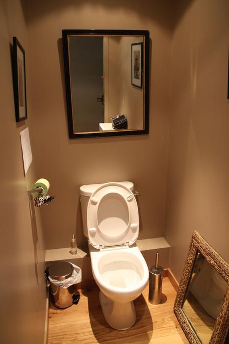 inspiration décoration wc - toilettes nature