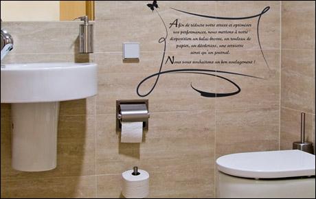 Conseil D Coration Wc Toilettes Stickers