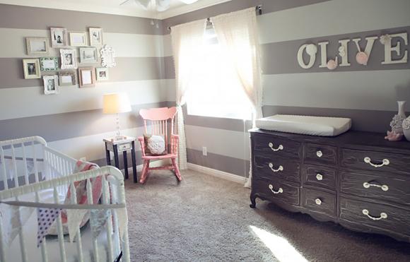 Mod le id e d co chambre b b gris - Deco chambre bebe gris ...
