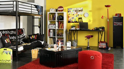id e d co chambre b b new york. Black Bedroom Furniture Sets. Home Design Ideas