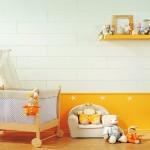 idée déco chambre bébé orange