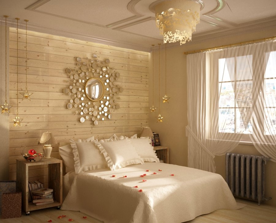 id e d co chambre beige. Black Bedroom Furniture Sets. Home Design Ideas