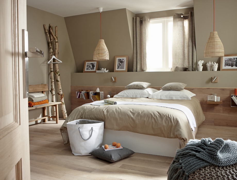 Quelle id e d co chambre nature for Idees decoration chambre