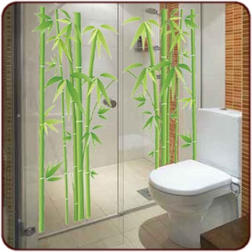 photo idée déco salle de bain stickers