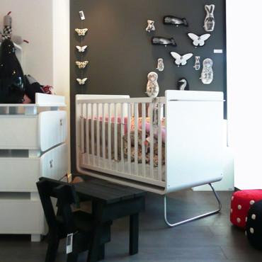 Guide ambiance chambre b b design - Deco chambre bebe gris et blanc ...