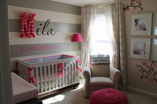 Awesome Chambre Beige Et Gris Idees - Idées décoration intérieure ...