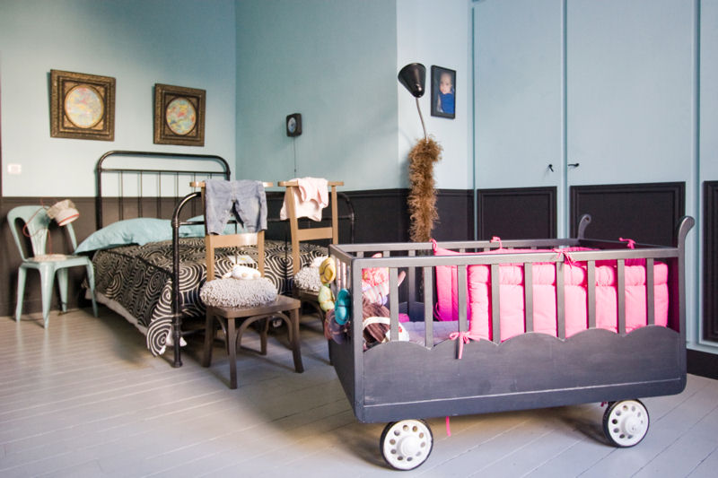 Jolie ambiance chambre b b industriel for Ambiance chambre bebe