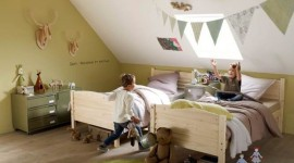 ambiance chambre bébé kaki