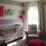 ambiance chambre fille gris