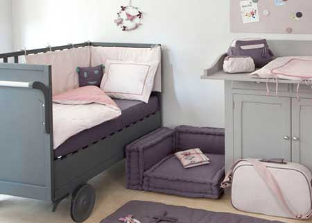Mod le ambiance chambre fille taupe for Ambiance chambre fille